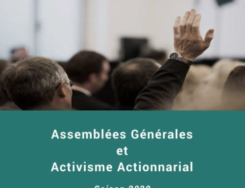 Publication du vingt quatrième rapport de Proxinvest « Assemblées Générales et activisme actionnarial – Saison 2020»